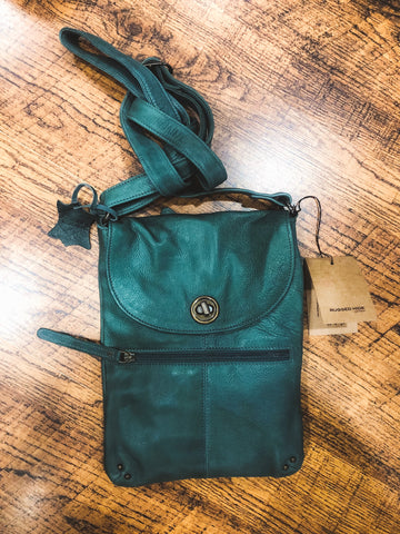 Tayla Bag - Graphite || Rugged Hide