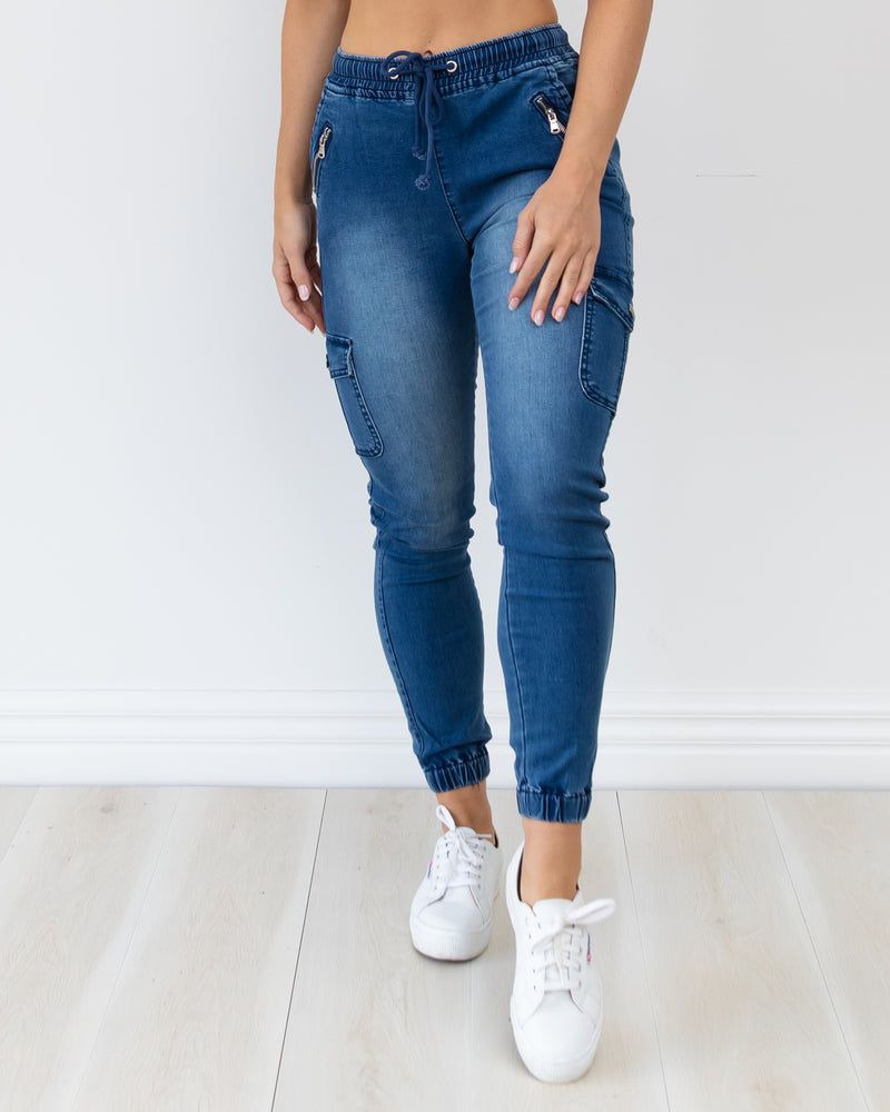 Ash Joggers - Blue Denim
