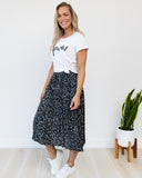 Axel Animal Print Skirt