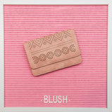 Billie Clutch - Pink