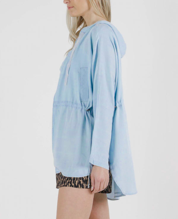 Frankie Jacket - Chambray