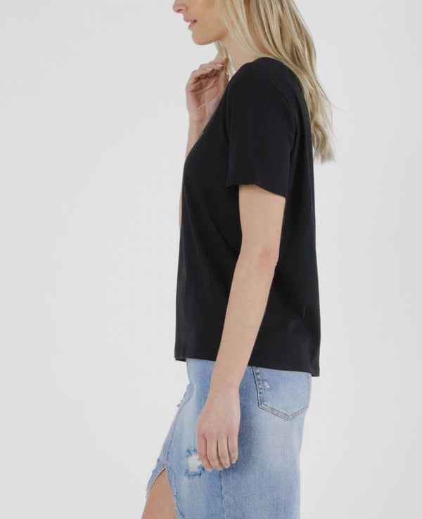 Camille Amore Top - Black