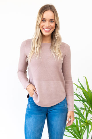 Bobbi Knit - 2Tone / Blush