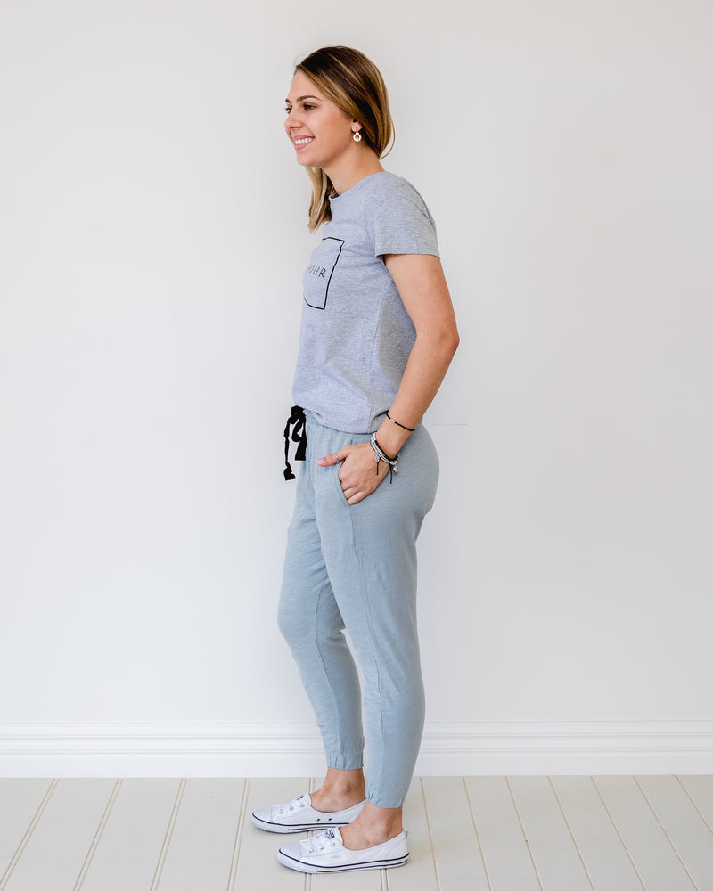 Bondi Pants - Ice Blue || 3rdStory