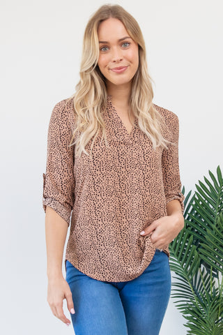 Bre Top - Dusty Pink