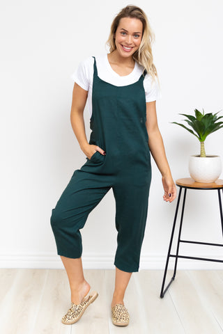 Brenka Playsuit - Emerald
