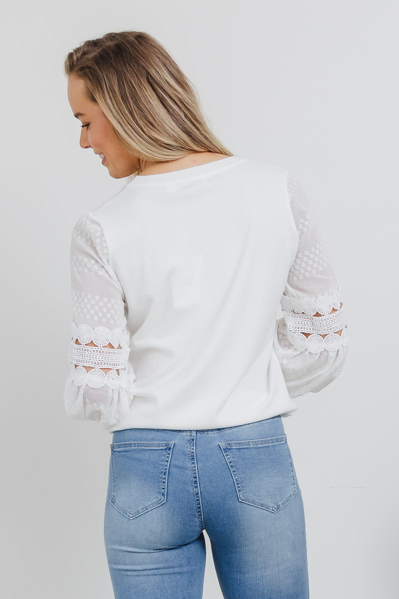 Calista Knit - White