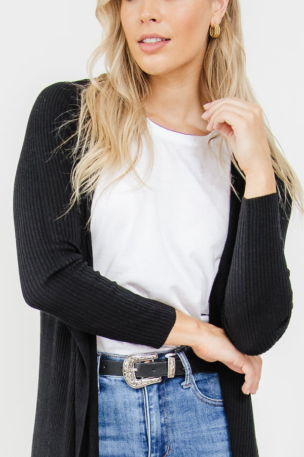 Cecile Cardigan - Black || By SASS {Online Exclusive}