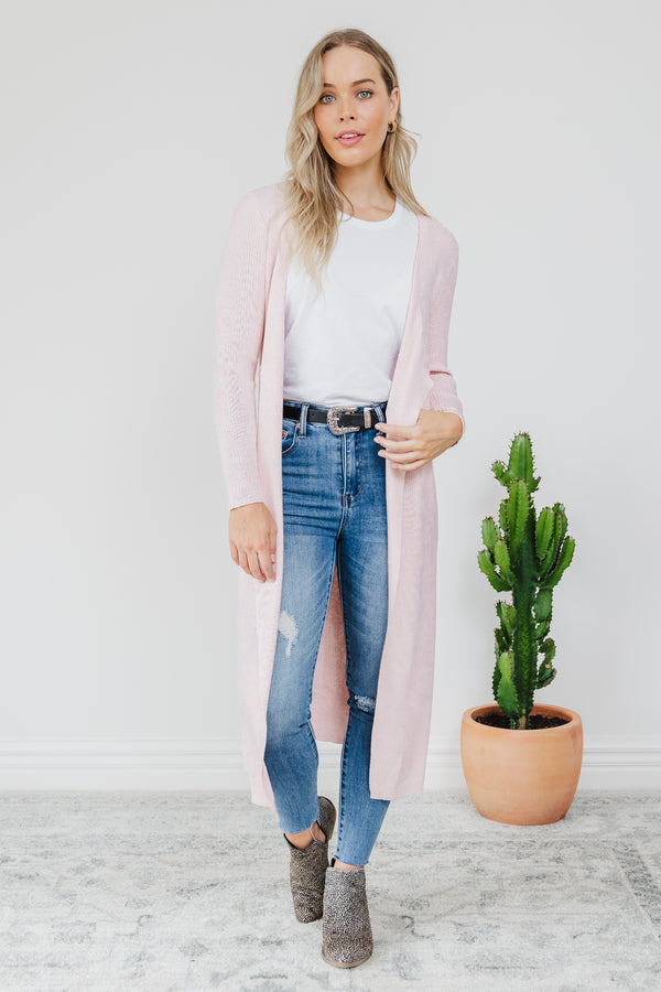 Cecile Cardigan - Blush || By SASS  {Online Exclusive}