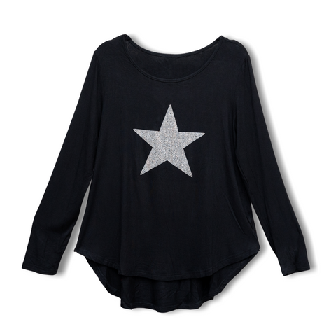 Star Top - Black