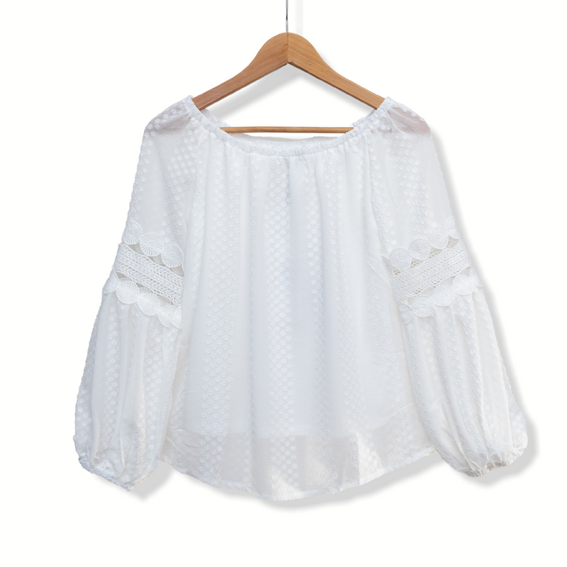 Paige Top - White