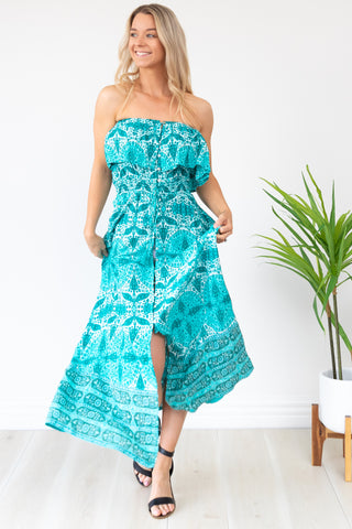Kelaya Dress MULTI WEAR - Aqua