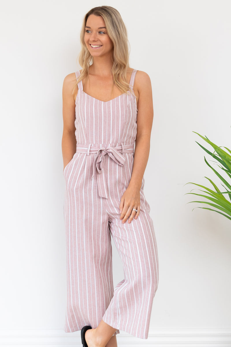 Gorja Playsuit - Pink