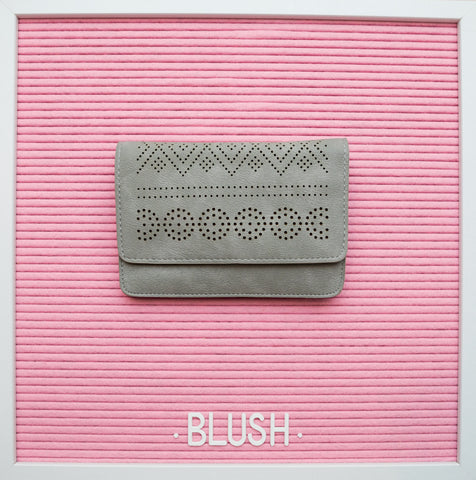 Billie Clutch - Grey