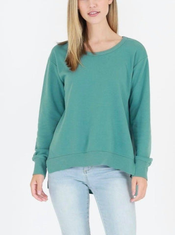 Ulverstone Sweater - Sea Green || 3rdStory