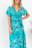 Leonie Wrap Dress