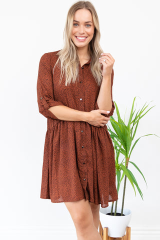 Jocey Shirt Dress || By Sass || Rosewood Animal