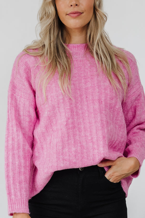 Kayla Knit Jumper - Floss || BY Betty Basics {Online Exclusive}