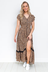 LuLu Maxi Dress - Leopard