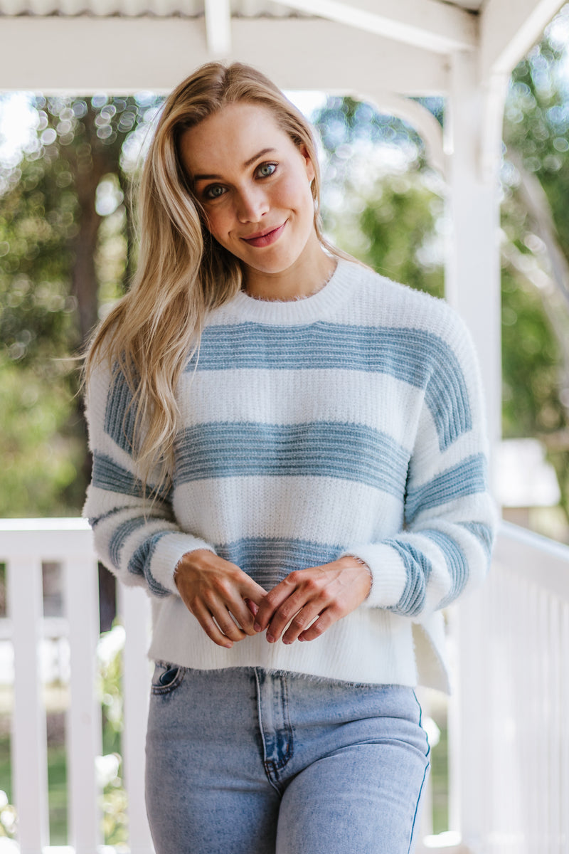 Lucy Sweater - Blue