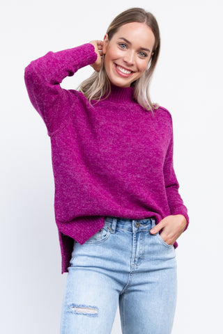 Mable Knit - Boysenberry