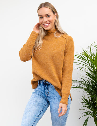 Mable Knit - Mustard