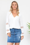 Milla Top - White