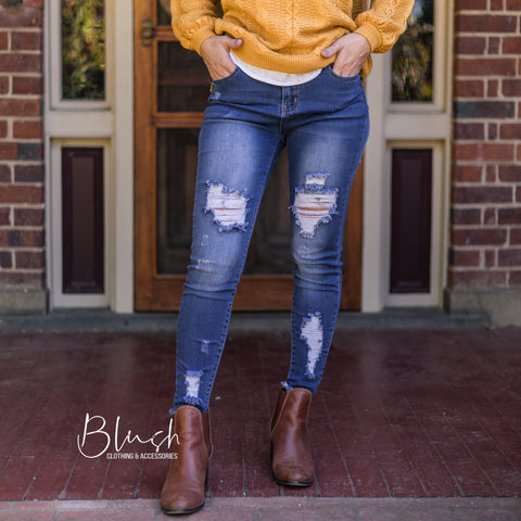 Ryver Distressed Jeans