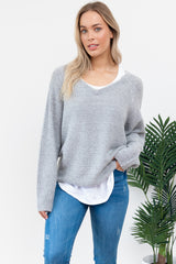 Flur Knit || By Sass || - Marble