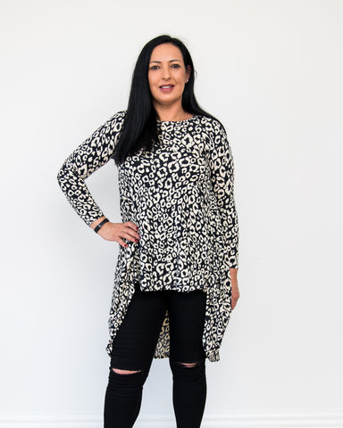 Roux Animal Print Top