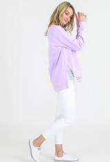 Ulverstone Sweater - Lilac || 3rdStory