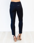 Tailor Zip Pants - Navy
