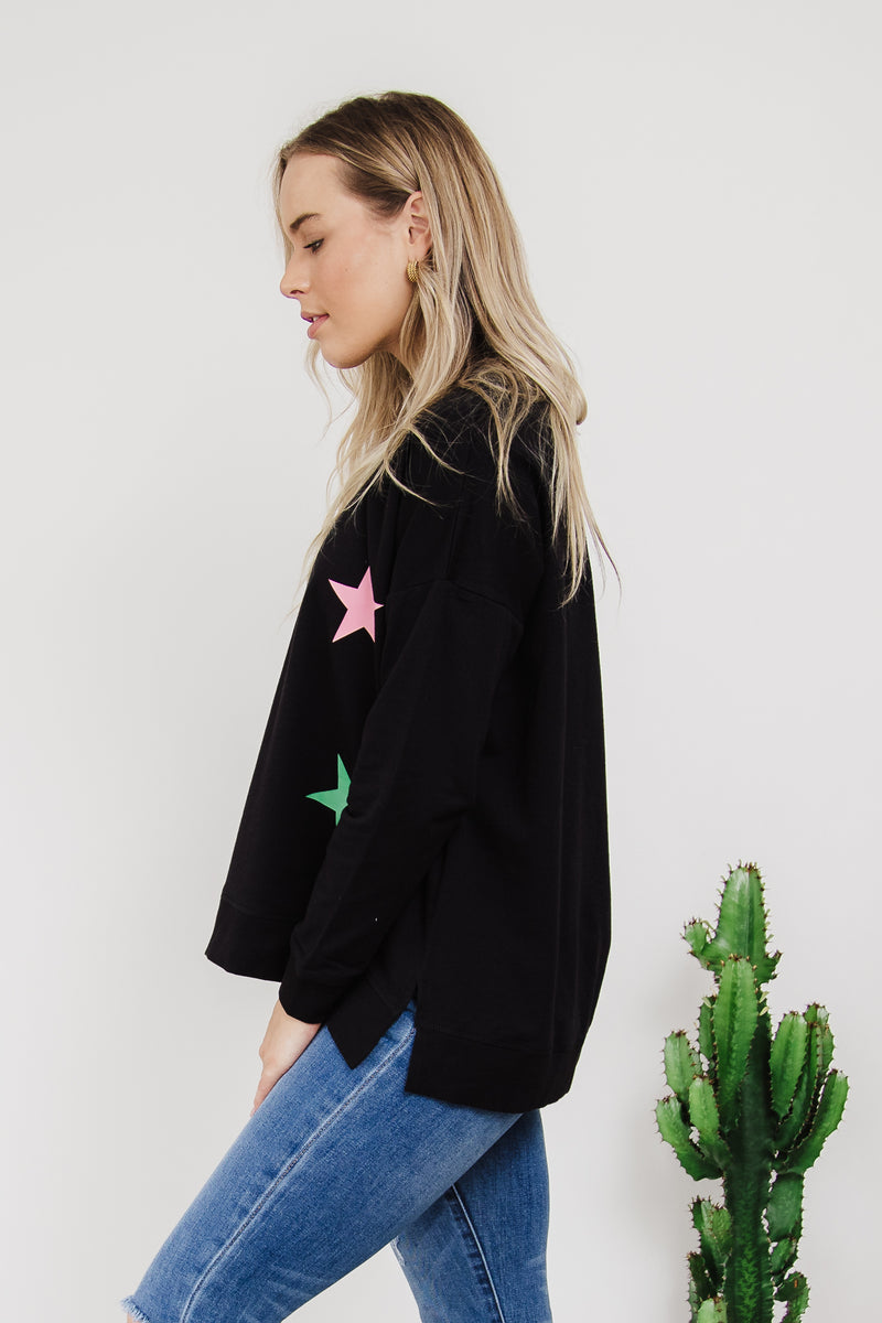 Sienna Stars Sweat || By Betty Basics