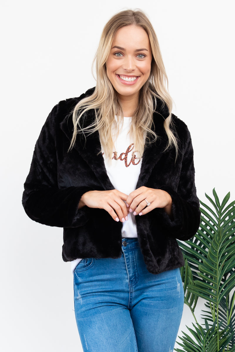 Stella Jacket | Short - Black