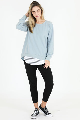 Ulverstone Sweater - Storm Blue || 3rdStory