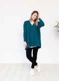 Teyli Knit - Teal