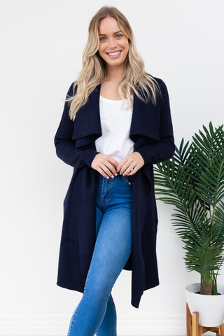 Tik Cardigan - Navy