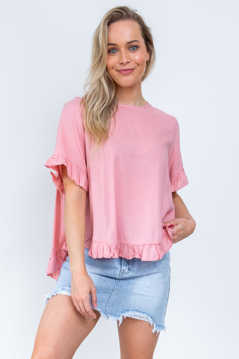 Tilly Top - Blush