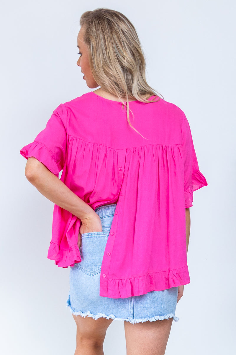 Tilly Top - Magenta