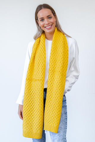 Winslet Scarf - Yellow