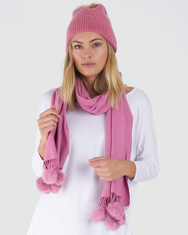 Pandora Beanie - Rose || By Betty Basics