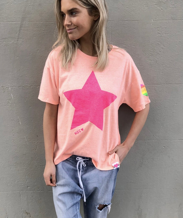 STAR CREW TEE By Hammill + Co