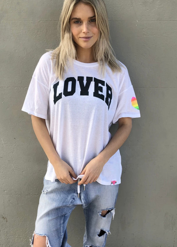 LOVER CREW TEE || By Hammill + Co