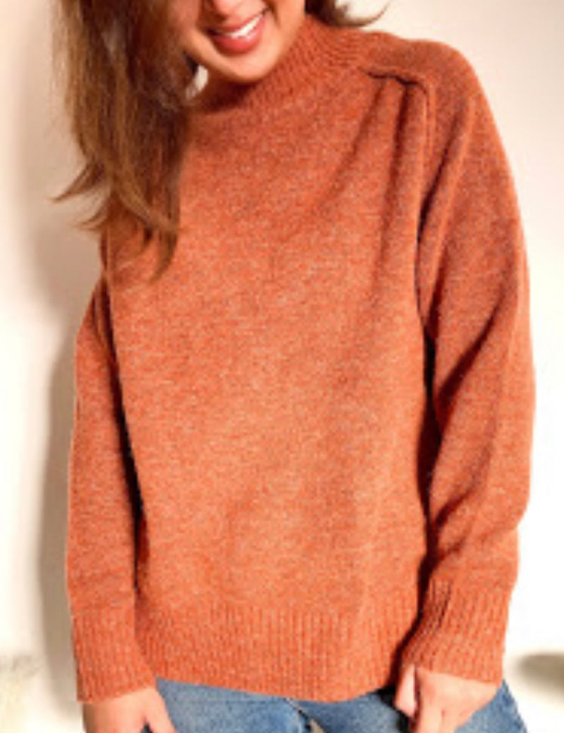 Mable Knit - Rust