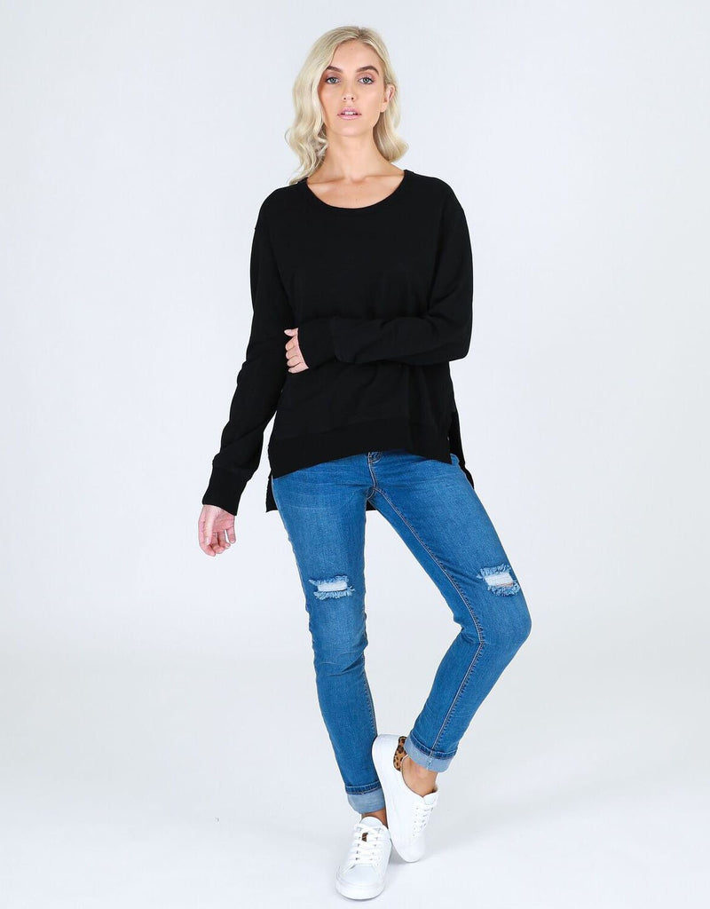 Ulverstone Sweater - Black || 3rdStory