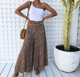 Samantha culottes- animal print