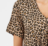Bella Dress - Animal Print