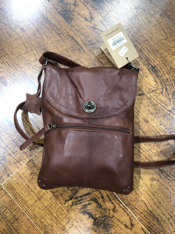 Tayla Bag - Brown || Rugged Hide