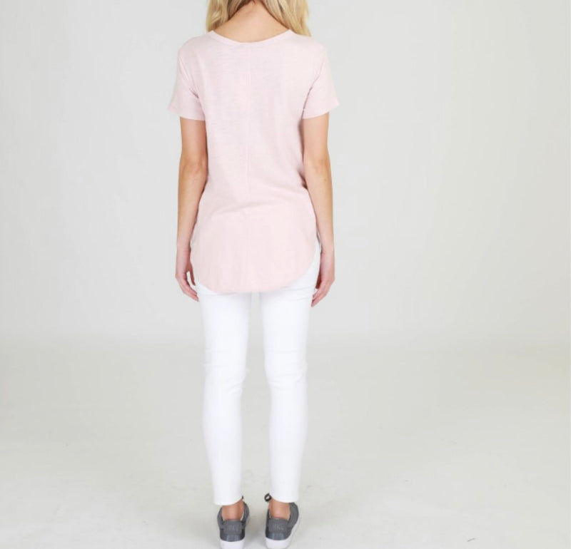 Elwood Tee by 3rd Story - Blush