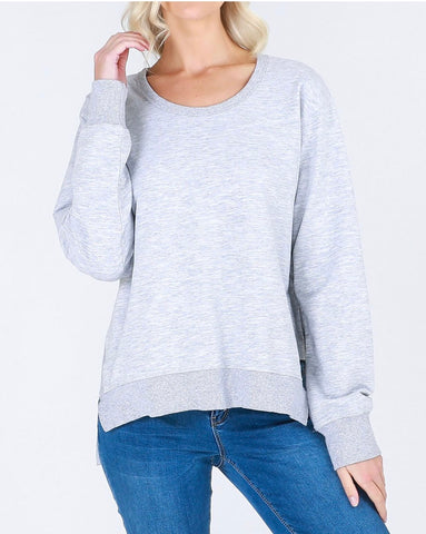 Ulverstone Sweater - Grey || 3rdStory
